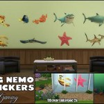 Finding Nemo Wall Stickers (StandAlone object)