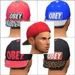 8 OBEY Hats for Males