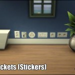 Electric Sockets Wall Stickers (StandAlone object)