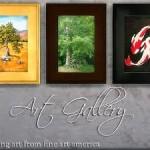 Fine Art America ~ 3 Sets of Painting Recolors (non-default)