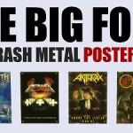 The Big Four Of Thrash Metal Poster Pack