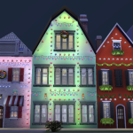 SimsDelsWorld: The Sims 4 : European Town 01 – Christmas Edition !