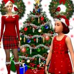 Sims-Mania: Christmas Collection – Boots for women / girl Abitino recolor