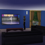 Plasmatron 3000 Flat Screen TV | Simista A little Sims 4 Site