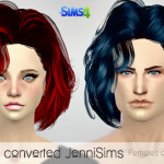Jennisims: Downloads sims 4: Peggy converted for the Sims 4 For Females and Males (including mesh)