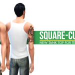 Simsational Designs: Square Cut Tank Top