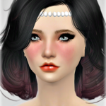 Jennisims: Downloads sims 4: New Mesh Accessory Hair Diadem Pearls