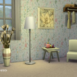 Field Of Flowers Wallpaper Collection | Simista A little Sims 4 Site