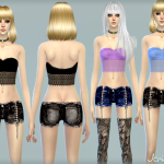 Jennisims: Downloads sims 4: Sets of clothes for the Sims 4