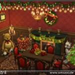 Weihnachtszimmer Christmas Room