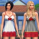 Christmas Lingerie – Sims 3,Sims 4