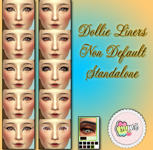 eluney dollie liners preview