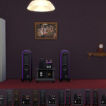 Rock of Ages Retro Stereo | Simista A little Sims 4 Site