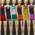 Cheerleader Outfit Unlocked | Simista A little Sims 4 Site