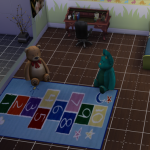 Darkiie-Sims4 kid rugs