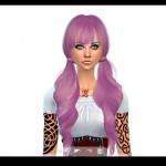 brownieswife sims DavidSims Raonjena Hair 37 Retexture – Request
