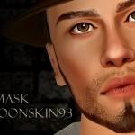 ☨ Cold Dawn ☨ Moonskin  nosemask