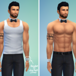 Request – Bowtie necklace + cuff bracelets My… – LumiaLover Sims