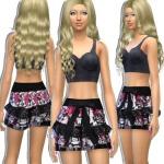 Sims4Fashion-Diva, Custom skirt rara skirt teen to elder everyday…