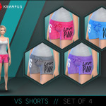 The Sims 4 Victoria Secret shorts for women. … – SIMS 4 CUSTOM CONTENT