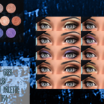 Bernie's Sims 4 Simblr – Makeup Geek 'Foiled' eye shadow palette for TS4! …