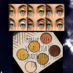 Bernie's Sims 4 Simblr – Makeup Geek Vegas Lights eye shadow palette for…