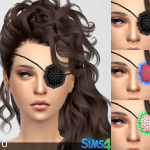 Studded Eye-patch for YAM & YAF. Name says it… – A3RU