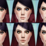 Salem2342 — New lenses for TS4 non default pink swatch 10…