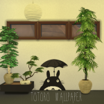 Totoro Wallpaper Works for all 3 wall sizes. 3…
