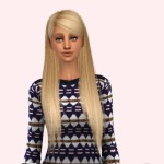 delirium sims, Retexture of Alesso's Alexis hair using Pooklet's…