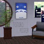 This set contains 3 posters with Totoro. If you…