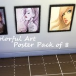 Rickeygirl24 // Colorful Art Poster Pack of 8 Download Link:…