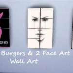 Rickeygirl24 // Random Set of Wall Art, 1 Bobs Burgers and 2 Face…
