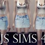 [JS SIMS 4] Denim Skirts