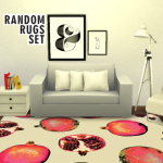you know, sims stuff. Random Rug Set