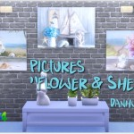 "Annett's Sims 3 World • Pictures ""Flower & Shells"" & ""Lovers"""