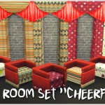 "Annett's Sims 3 World • Living Room Set ""Cheerful"""