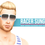 Peace's Place — Racer Sunglasses