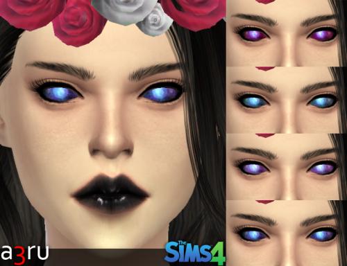 A3ru Galaxy Eyes For Yam Amp Yaf Sims 4 Updates Sims