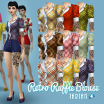 Retro Ruffle Blouses – New and Improved! My…