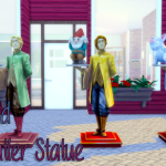 Totes Les Sims 4, Reginald, the butler statue