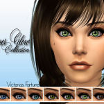 fortunecookie1's Victorias Fortune Inner Glow Eye Collection