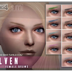 Screaming Mustard's [ Elven ] – Female Brows