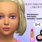 Puresim's Light Makeup For Children