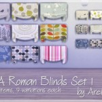 Arelien's EA Roman Blinds Set 1