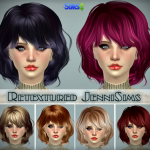 Jennisims: Downloads sims 4:Sets Hairs Peggy, Elasims,Raon Converted Retexture (including mesh)