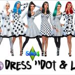 "Dress ""Dot & Line"""