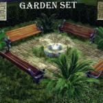 27Sonia27: Garden Set