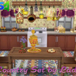 Ladesire's creative corner): TS4 – VitaSims' Country Set Decor by Ladesire (101 items)