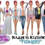 21 Blazer as Accessory